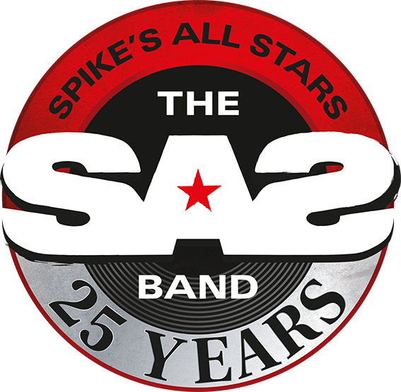SAS Band 25 Years Anniversary Logo