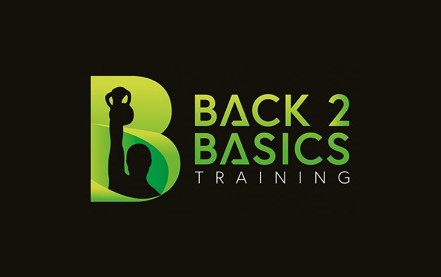 Back 2 basics logo black