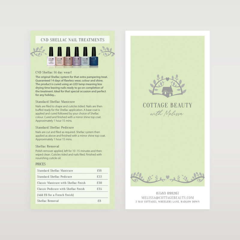 Cottage-Beauty-menu-front